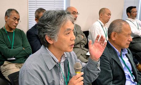 Japanese veterans fukushima