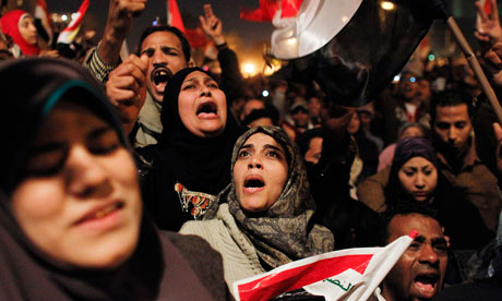women tahrir square