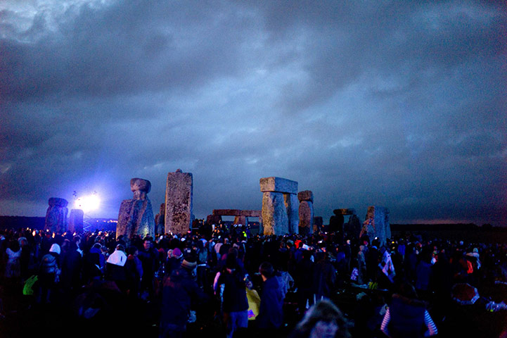 Summer solstice at Stonehenge - in pictures