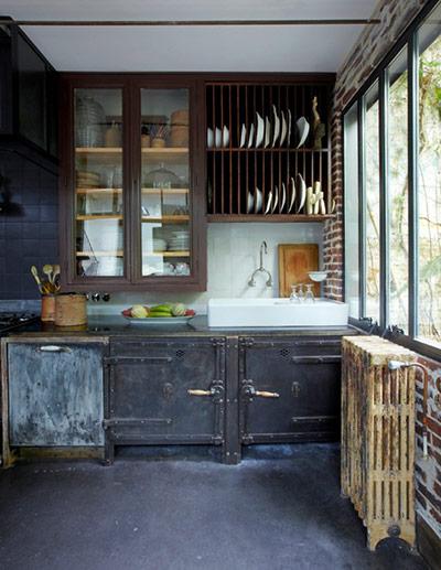 Paris apartment 3 for Industrial style kitchen uk