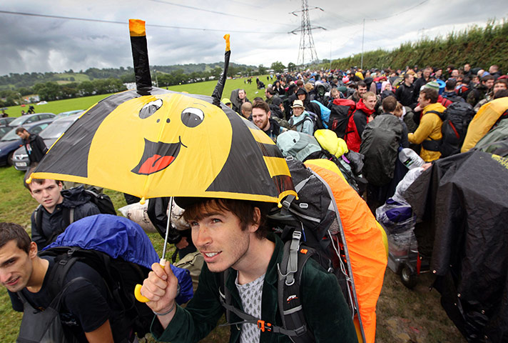 Glastonbury in pictures