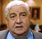 Syria Walid al-Moallem