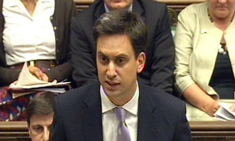 Miliband's odd decision to focus on DNA when Clarke forced into big u-turn