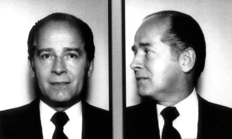 James Bulger as he looked in his original 1984 FBI mugshots