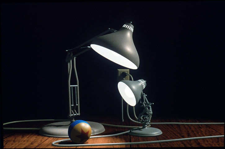 10 Best Pixar Characters: Pixar Anglepoise Lamp