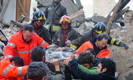 L'Aquila earthquake, April 2009