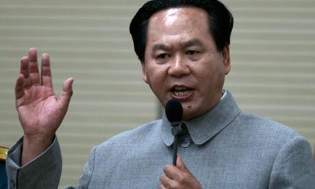 Mao impersonator