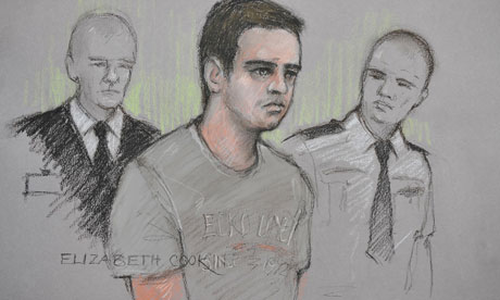 Ryan Cleary court drawing