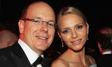 Albert II of Monaco and Charlene Wittstock