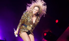 Beyoncé at Glastonbury 2011