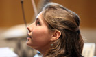 Amanda Knox sits in Perugia's court of appeal