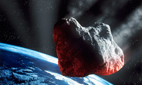 Asteroid enters Earth's atmosphere