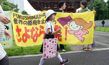 Fukushima protest