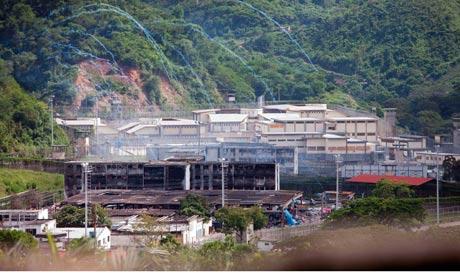 El Rodeo prison in Venezuela