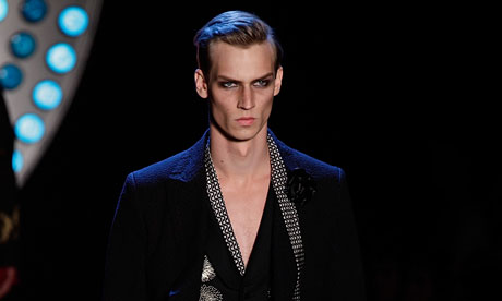 John Galliano Paris Fashion Week Menswear S/S 2012