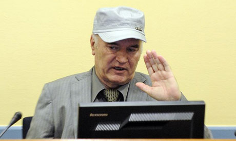 Mladic in court