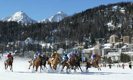 St Moritz: Preparing to host Bilderberg