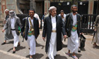 Tribal leaders in Yemen