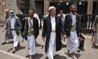 Tribal leaders in Yemen