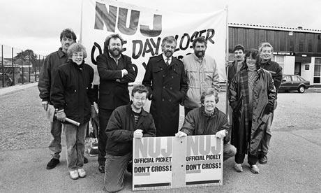 Michael Gove striking in 1989.