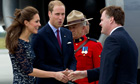 Prince William and Kate land in Ottawa