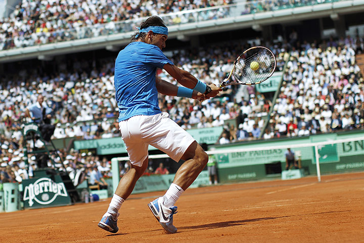 French open final: TENNIS-FRA-OPEN-ROLAND-GARROS