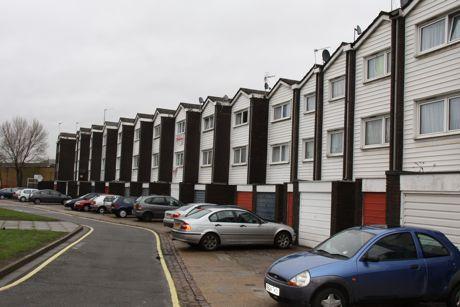 West Kensington estate London