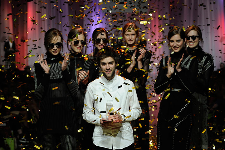 Graduate Fashion Week: Rory Longdon wins the Graduate Fashion Week Gold Award