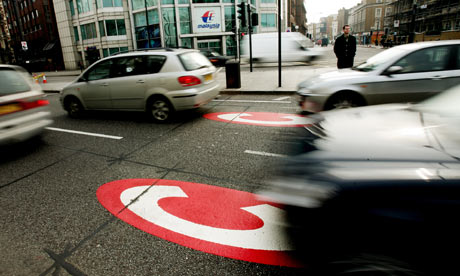 London congestion charge zone