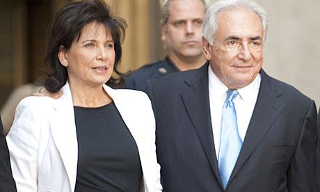 dominique strauss kahn maid name. Dominique Strauss-Kahn with his wife Anne Sinclair after he was released