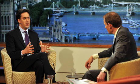 Ed Miliband on The Andrew Marr Show