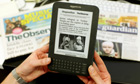 The Kindle edition of the Guardian