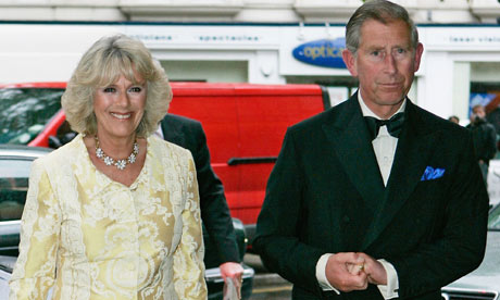 The Duchess of Cornwall and Prince Charles