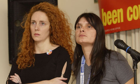 Rebekah Brooks and Sara Payne