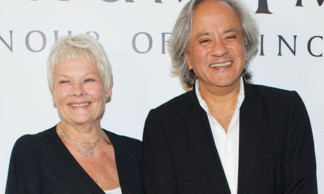 Dame Judi Dench and Anish Kapoor at the Praemium Imperiale