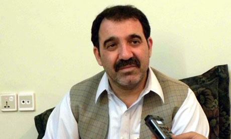 Ahmed Wali Karzai, brother of Hamid Karzai