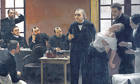 Charcot painting by Brouillet
