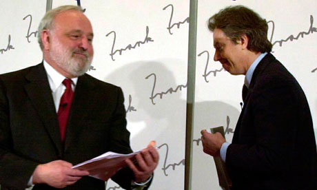 Frank Dobson and Tony Blair