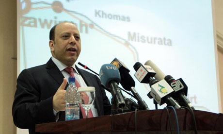 Gaddafi's deputy foreign minister Khaled Kaim