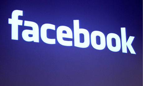 File photo of the Facebook logo at the company headquarters in Palo Alto