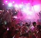 Space nightclub in Ibiza