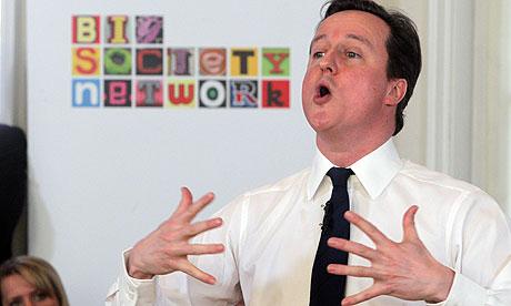 Prime Minister David Cameron Big Society Event