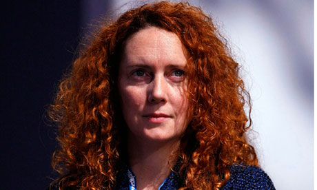 Chief Executive of News International, Rebekah Brooks
