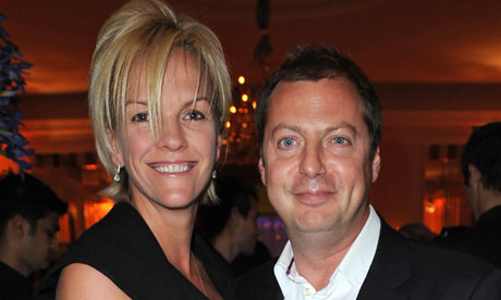 Elisabeth Murdoch and Matthew Freud
