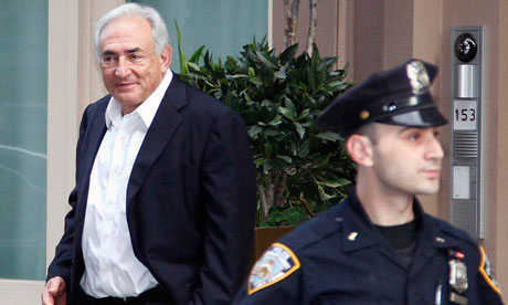 dominique strauss-kahn victim picture. Dominique Strauss-Kahn, former head of the IMF, leaves his house for the