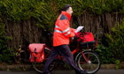royal mail postman bike