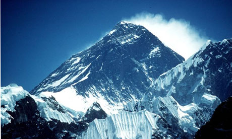Mount Everest Height Mount Everest Photograph