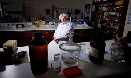 Professor Diana Anderson at the University of Bradford. Photograph: Christopher Thomond for the Guardian