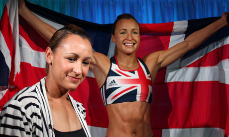 British Olympic athlete Jessica Ennis