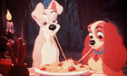 Film Stills Of 'Lady And The Tramp' 1955